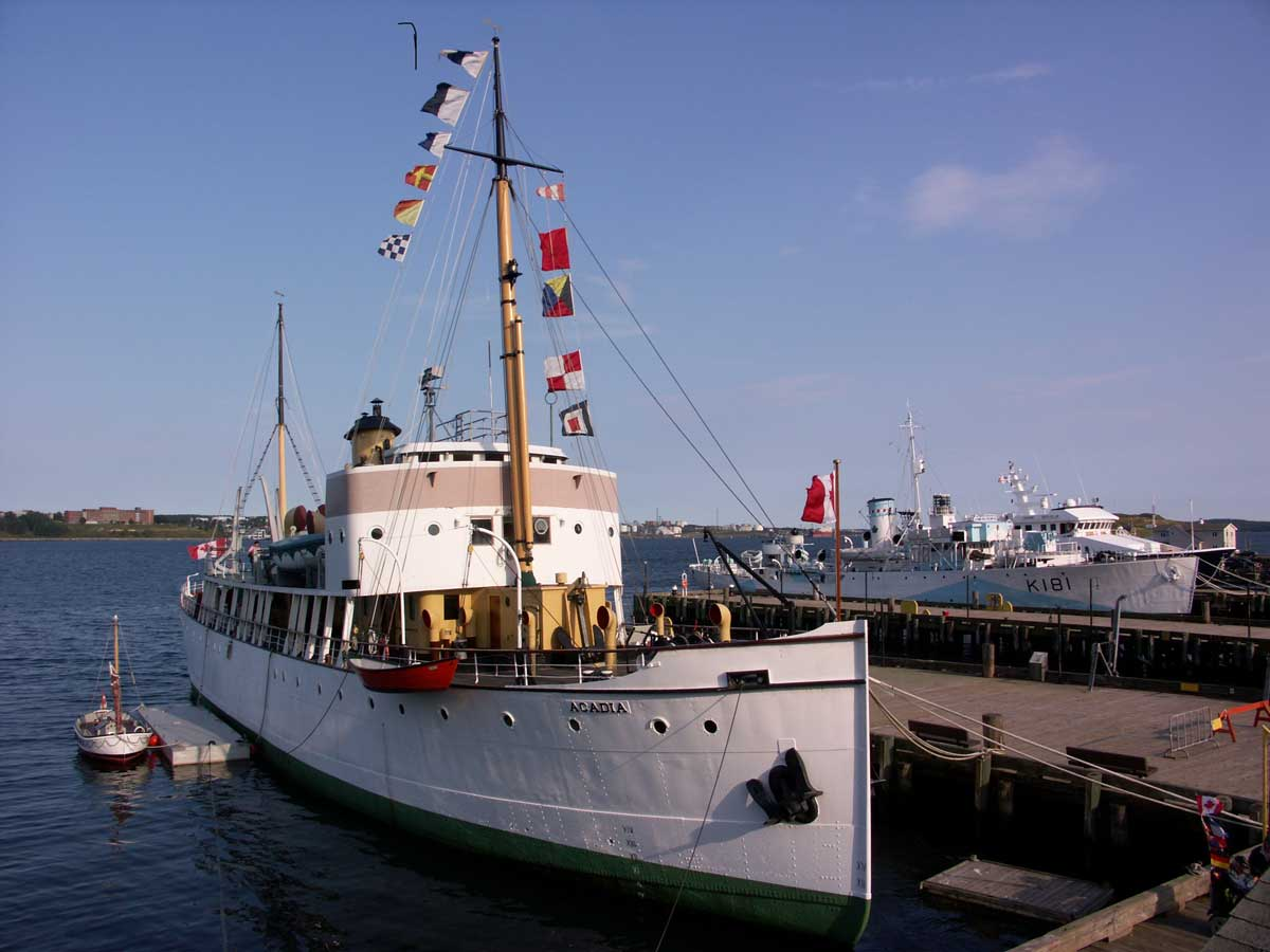 CSS Acadia and HMCS Sackville