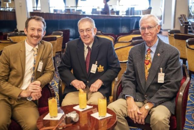 Ian, Lester and Ed