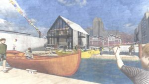Boat School Concept Drawing