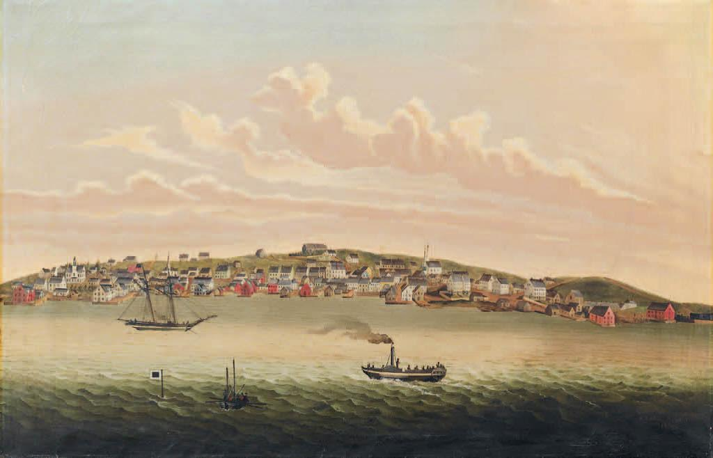 Pictou Harbour in 1830
