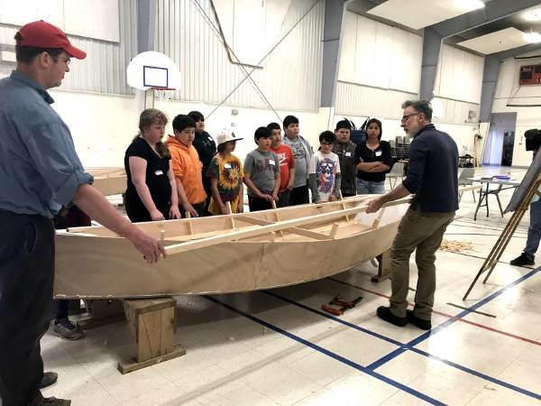 Students at Pictou Landing First Nation get expert instruction on boat building