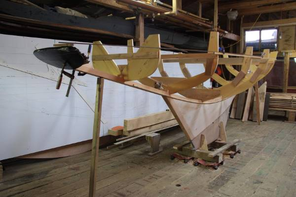 Start of a new boat